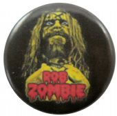 Rob Zombie - 'Rob Yellow' Button Badge